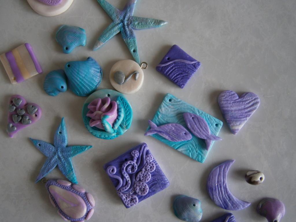 украшения из полимерной глины