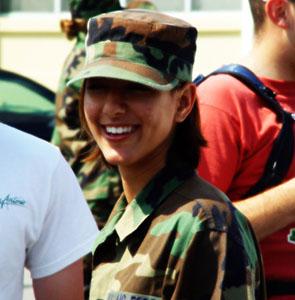 женские военные профессии